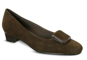 David Tate Ariana Brown Suede Womens Shoe